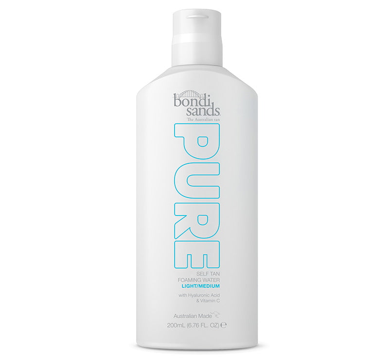 BONDI SANDS PURE SELF TAN FOAMING WATER - LIGHT/MEDIUM Glam Raider