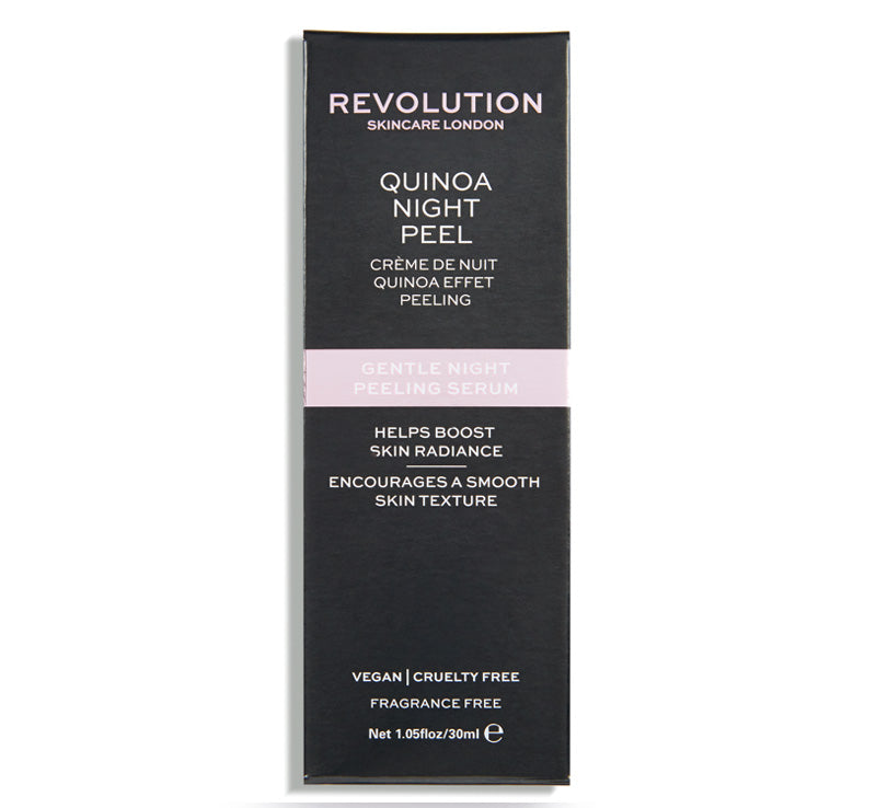 REVOLUTION SKINCARE QUINOA GENTLE NIGHT PEELING SERUM Glam Raider