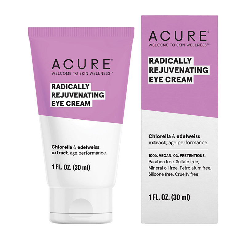 ACURE RADICALLY REJUVENATING EYE CREAM Glam Raider