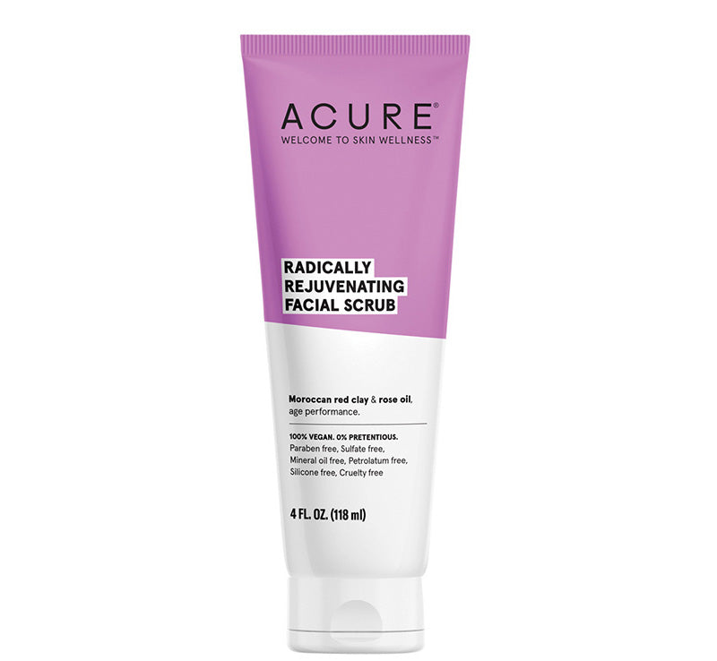 ACURE RADICALLY REJUVENATING FACIAL SCRUB Glam Raider