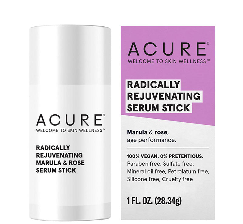 ACURE RADICALLY REJUVENATING MARULA & ROSE SERUM STICK Glam Raider