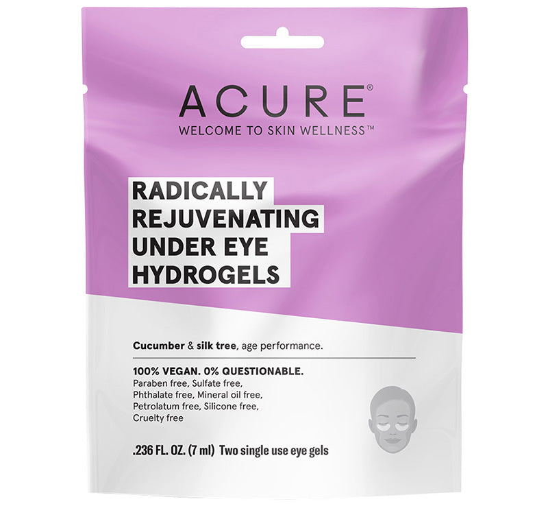ACURE RADICALLY REJUVENATING UNDER EYE HYDROGELS Glam Raider
