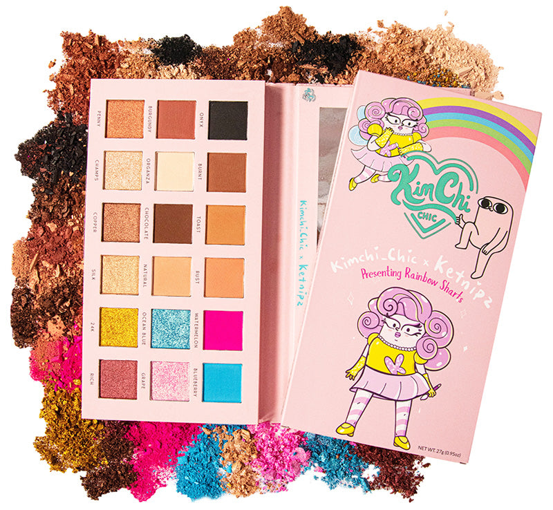 RAINBOW SHARTS PALETTE