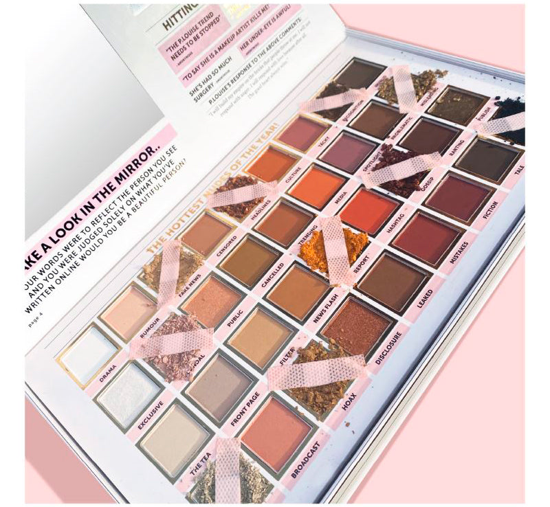 P. Louise Read All About It Nude Eyeshadow Palette - Plouise Makeup Academy