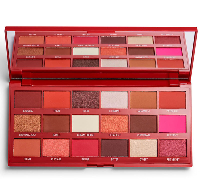 I HEART REVOLUTION RED VELVET CHOCOLATE PALETTE Glam Raider