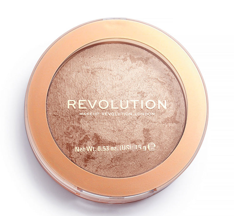 MAKEUP REVOLUTION HOLIDAY ROMANCE RELOADED BRONZER Glam Raider
