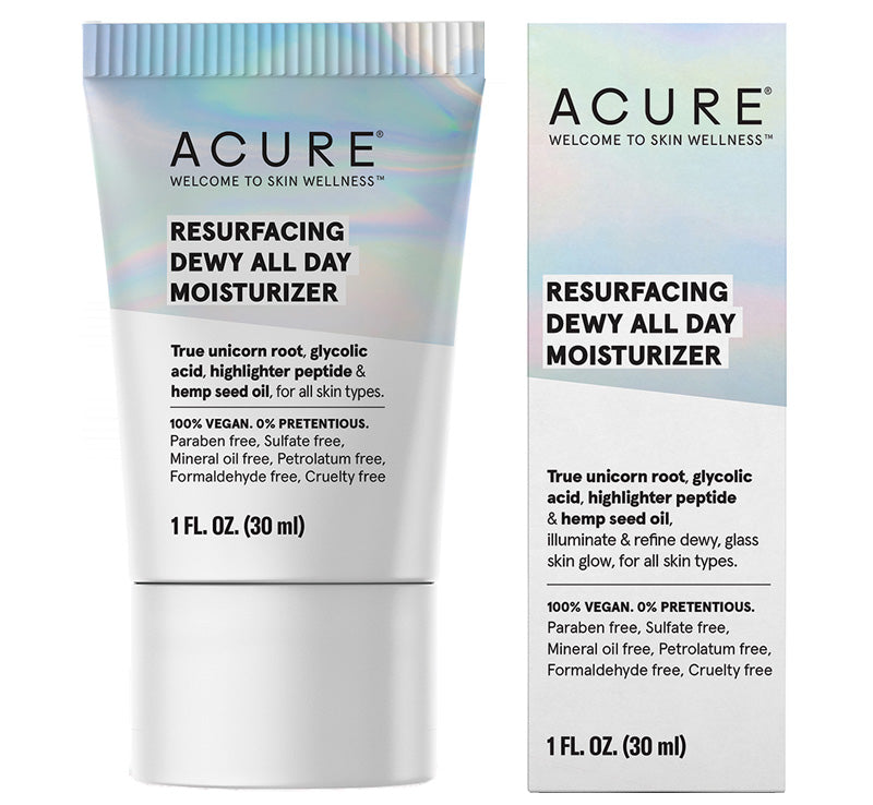 ACURE RESURFACING DEWY ALL DAY MOISTURIZER Glam Raider