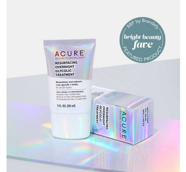 ACURE RESURFACING OVERNIGHT GLYCOLIC TREATMENT Glam Raider