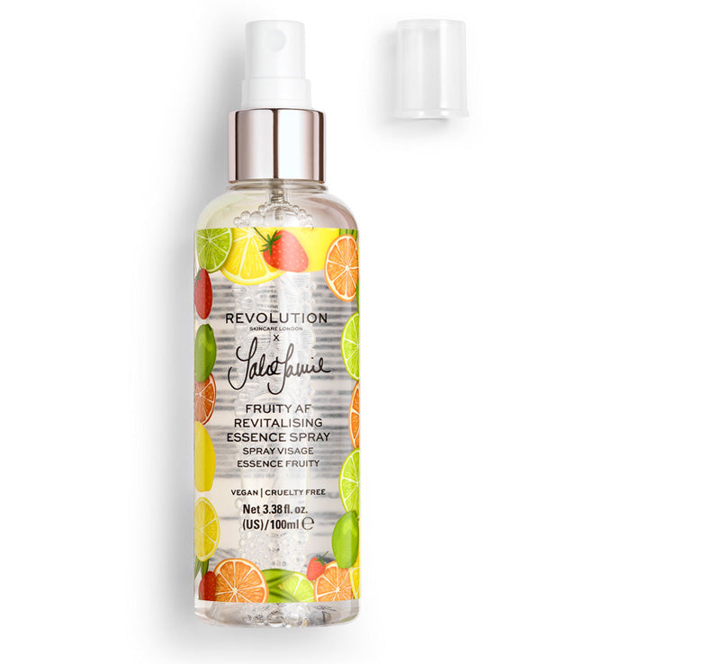 REVOLUTION SKINCARE REVOLUTION SKINCARE x JAKE JAMIE FRUITY AF ESSENCE SPRAY Glam Raider
