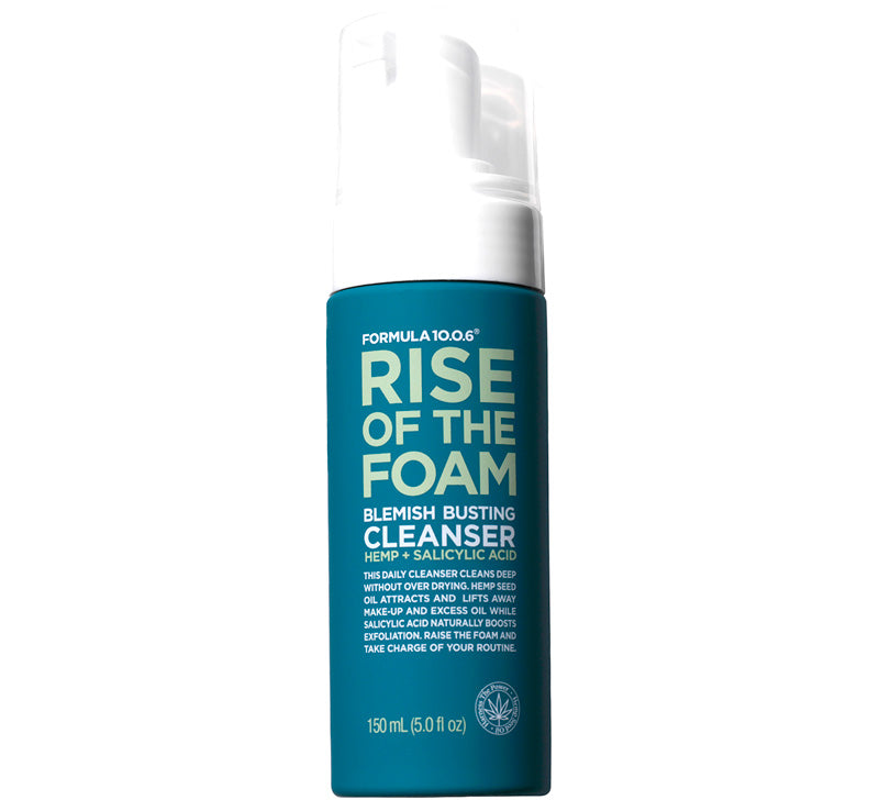 FORMULA 10.0.6 RISE OF THE FOAM BLEMISH BUSTING CLEANSER Glam Raider