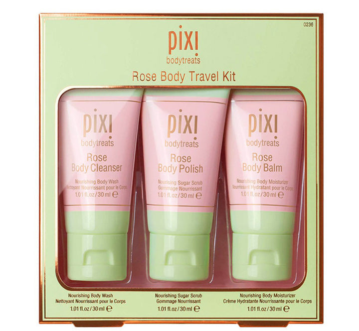 PIXI ROSE BODY TRAVEL KIT Glam Raider