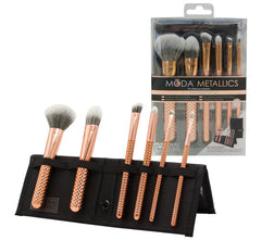 TOTAL FACE BRUSH KIT - ROSE GOLD