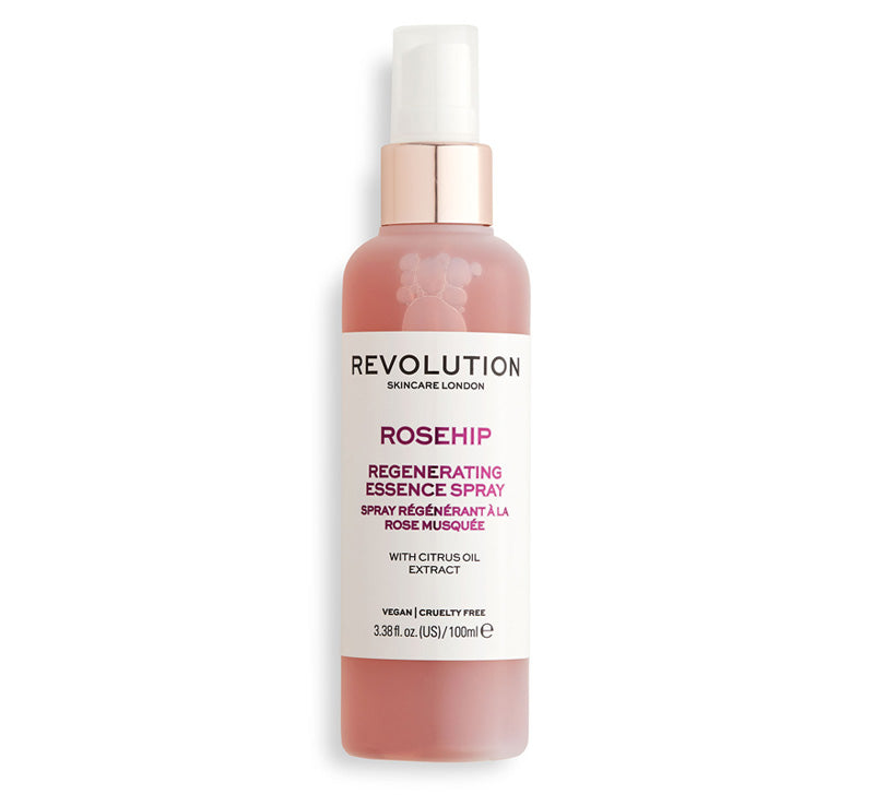 REVOLUTION SKINCARE ROSEHIP REGENERATING ESSENCE SPRAY Glam Raider