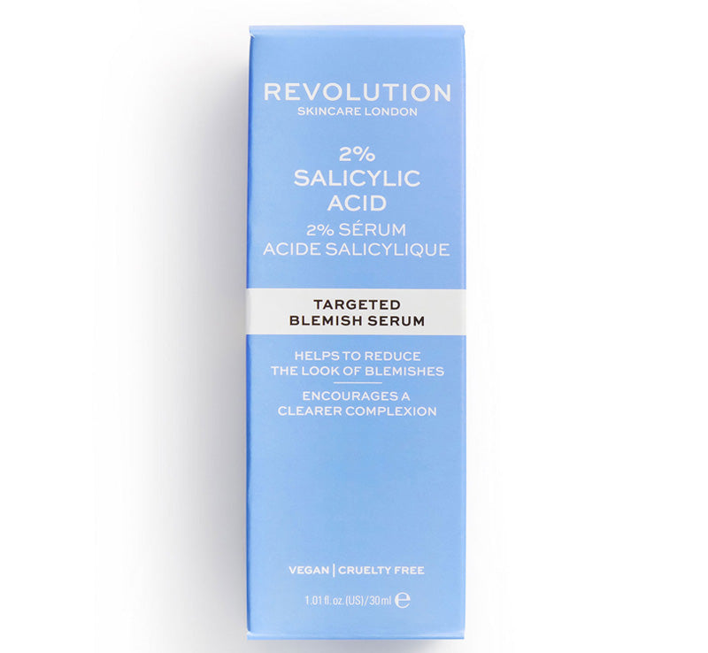 REVOLUTION SKINCARE TARGETED BLEMISH SERUM 2% SALICYLIC ACID Glam Raider