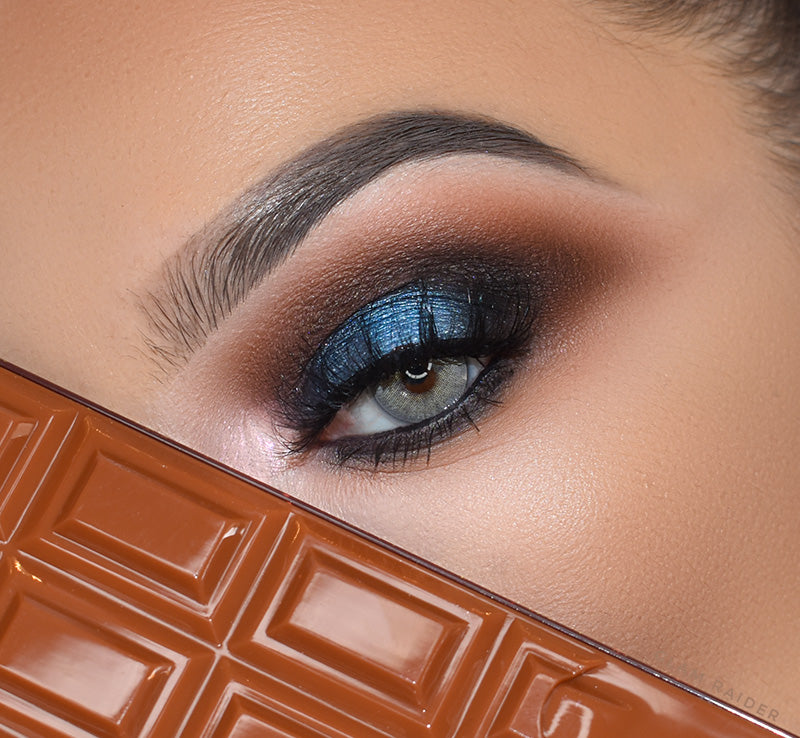 I HEART REVOLUTION SALTED CARAMEL CHOCOLATE PALETTE Glam Raider