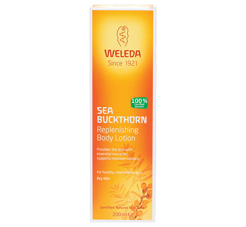 WELEDA SEA BUCKTHORN BODY LOTION Glam Raider