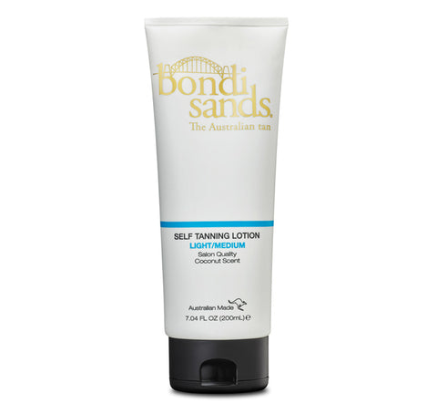 SELF TANNING LOTION - LIGHT/MEDIUM