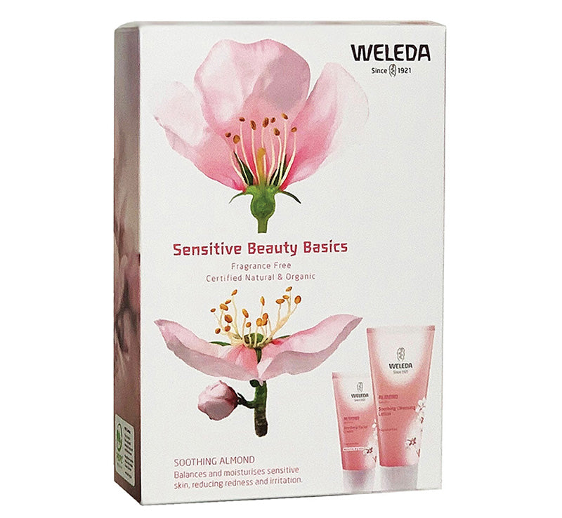 WELEDA SENSITIVE BEAUTY BASICS PACK Glam Raider