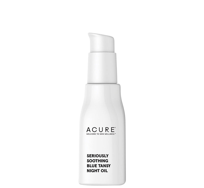 ACURE SERIOUSLY SOOTHING BLUE TANSY NIGHT OIL Glam Raider
