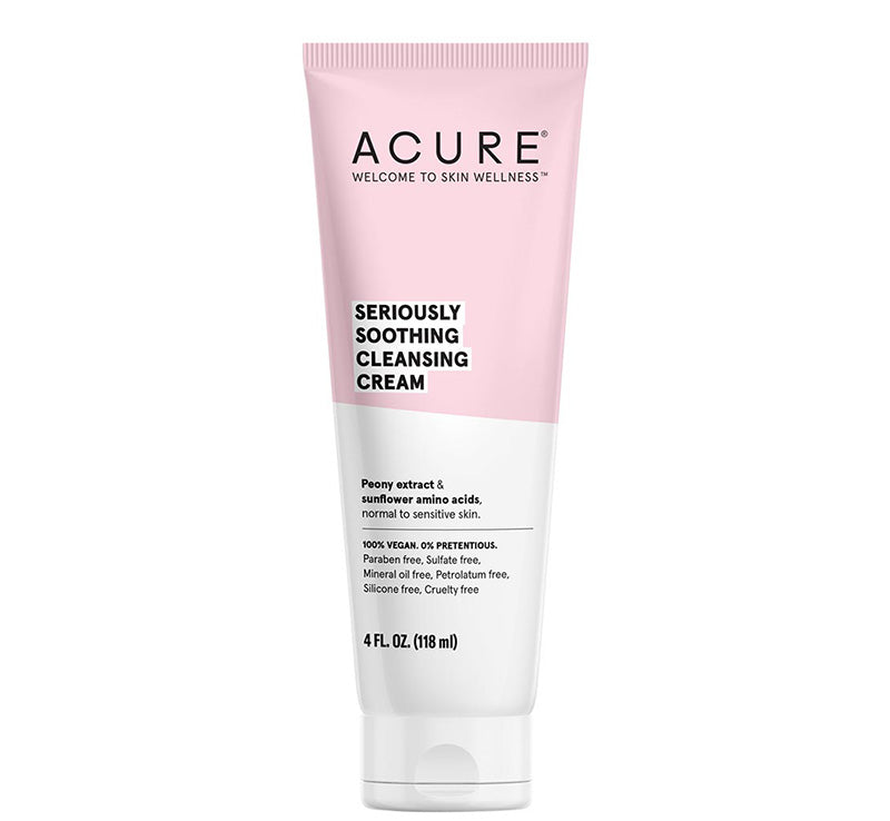 ACURE SERIOUSLY SOOTHING CLEANSING CREAM Glam Raider