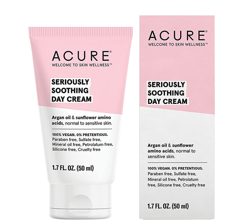 ACURE SERIOUSLY SOOTHING DAY CREAM Glam Raider