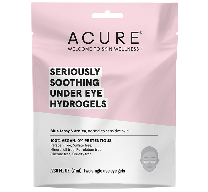 ACURE SERIOUSLY SOOTHING UNDER EYE HYDROGELS Glam Raider