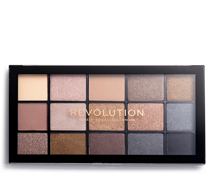 MAKEUP REVOLUTION SMOKY NEWTRALS RELOADED PALETTE Glam Raider