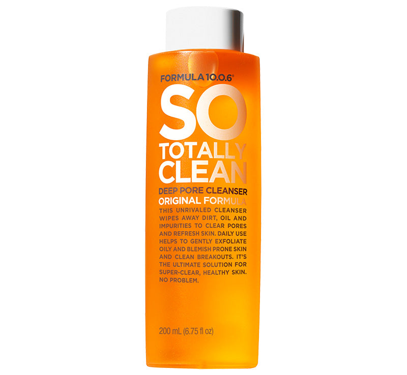 FORMULA 10.0.6 SO TOTALLY CLEAN DEEP PORE CLEANSER Glam Raider