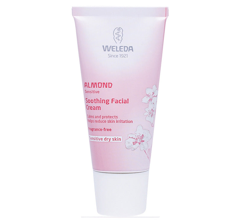 WELEDA ALMOND SOOTHING FACIAL CREAM Glam Raider