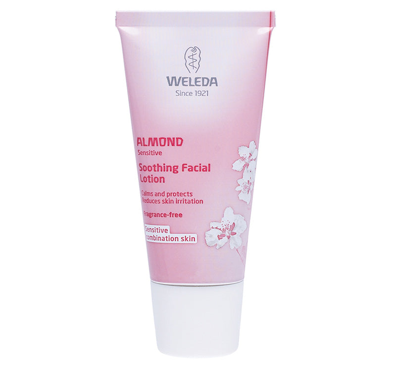WELEDA ALMOND SOOTHING FACIAL LOTION Glam Raider
