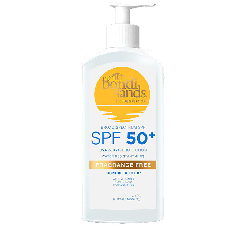 BONDI SANDS SPF 50+ FRAGRANCE FREE SUNSCREEN LOTION - 500ml Glam Raider