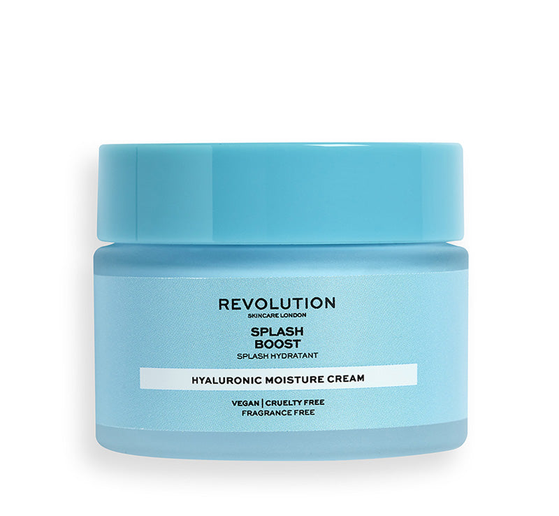 REVOLUTION SKINCARE SPLASH BOOST HYALURONIC MOISTURE CREAM Glam Raider