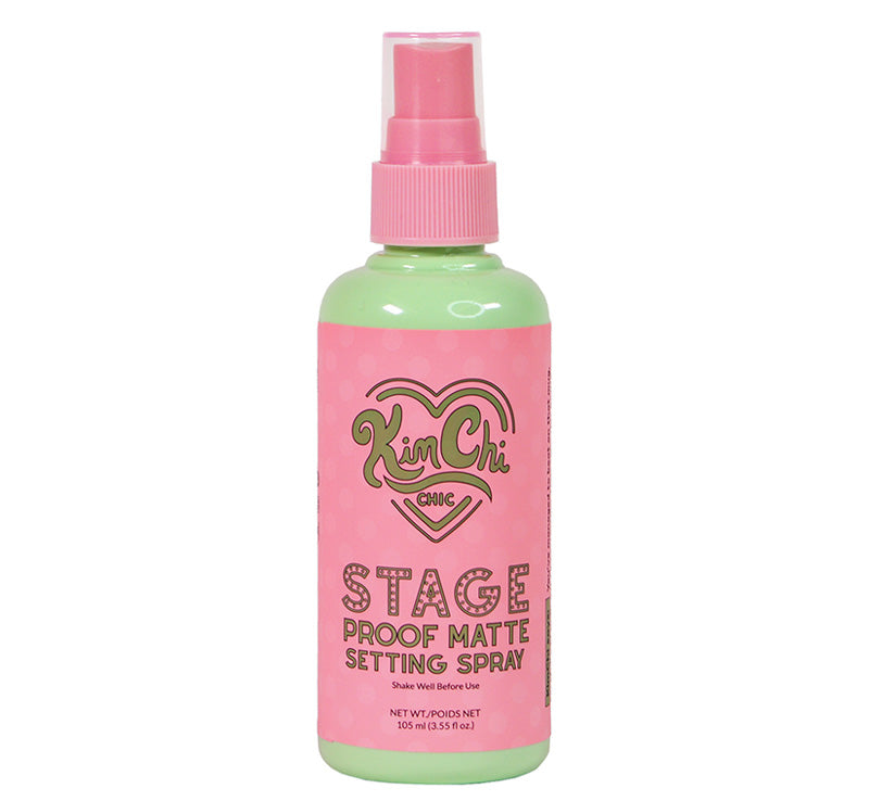 KIMCHI CHIC BEAUTY STAGE PROOF MATTE SETTING SPRAY Glam Raider