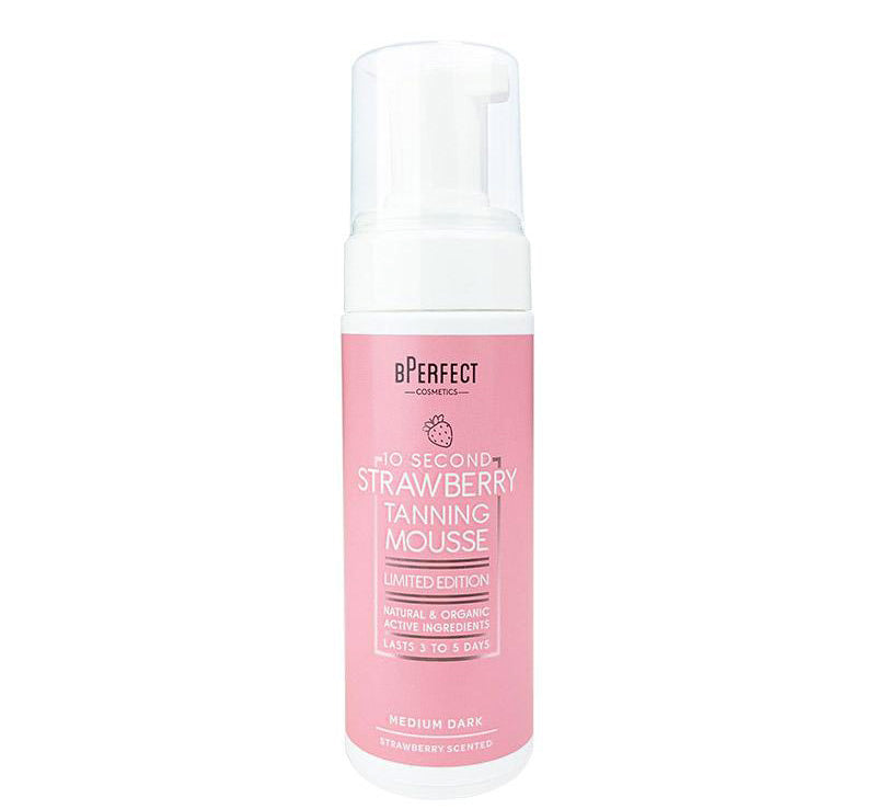 BPERFECT 10 SECOND SELF TANNING MOUSSE - STRAWBERRY Glam Raider