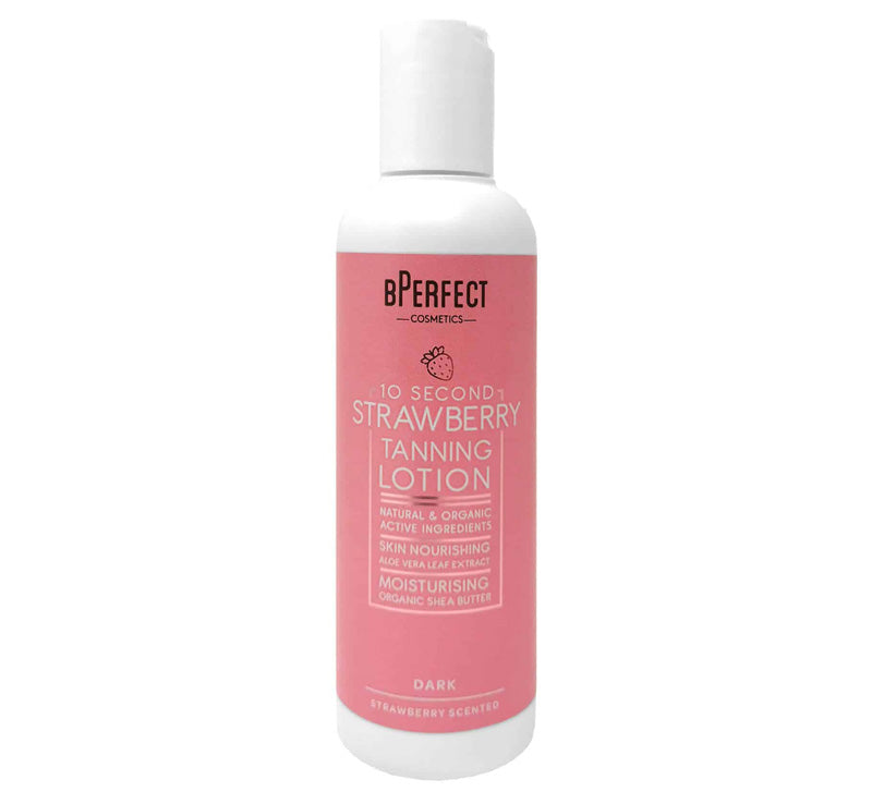 10 SECOND STRAWBERRY TANNING LOTION - DARK