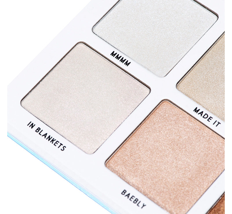 Bperfect Mmmmitchell Sub Zero Highlighter Palette Glam