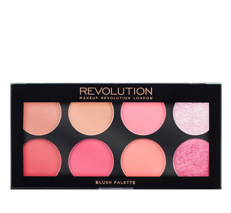 MAKEUP REVOLUTION SUGAR & SPICE - ULTRA BLUSH PALETTE Glam Raider
