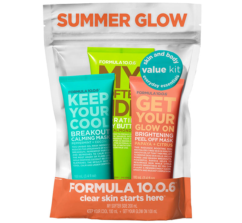 FORMULA 10.0.6 SUMMER GLOW VALUE PACK Glam Raider