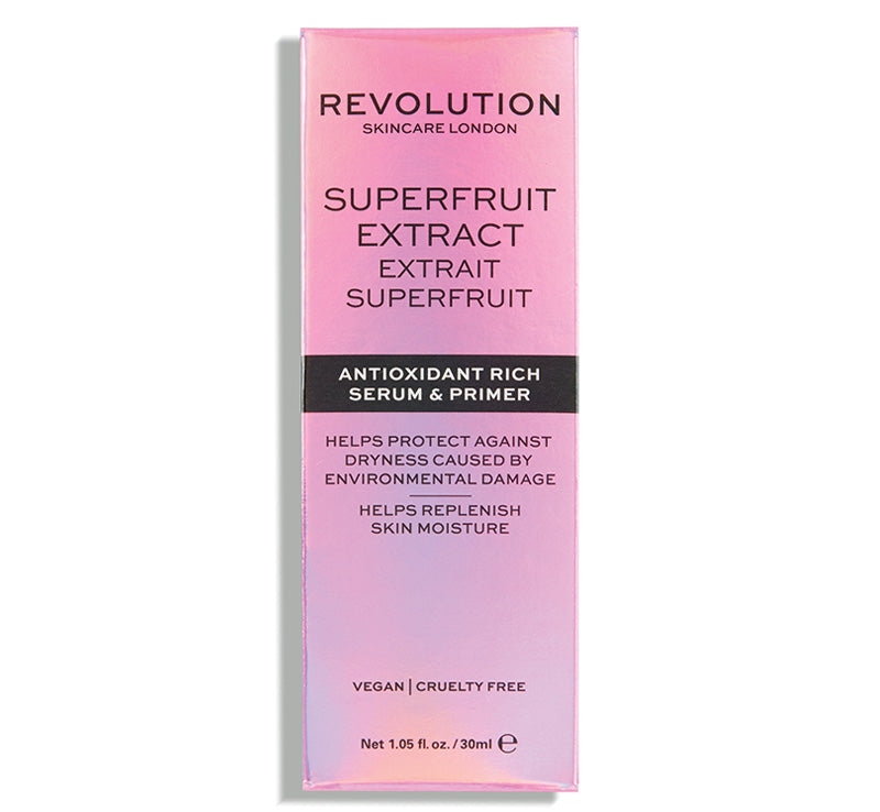REVOLUTION SKINCARE SUPERFRUIT EXTRACT - ANTIOXIDANT RICH SERUM & PRIMER Glam Raider