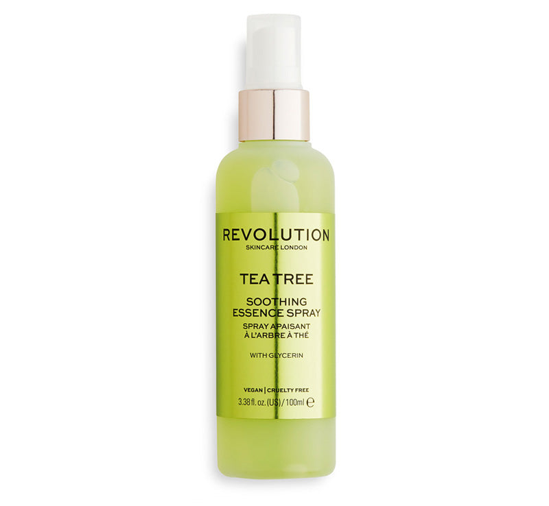 REVOLUTION SKINCARE TEA TREE SOOTHING ESSENCE SPRAY Glam Raider
