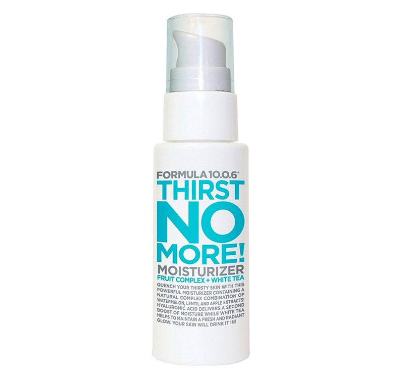 FORMULA 10.0.6 THIRST NO MORE MOISTURIZER Glam Raider