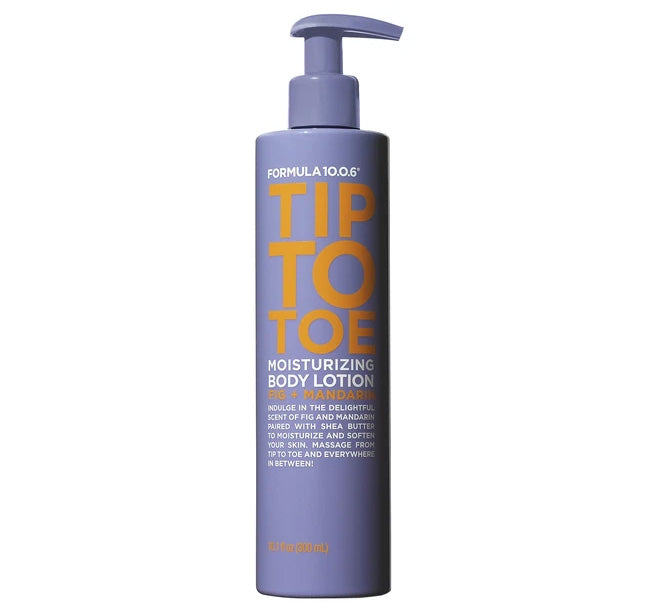 TIP TO TOE MOISTURIZING BODY LOTION
