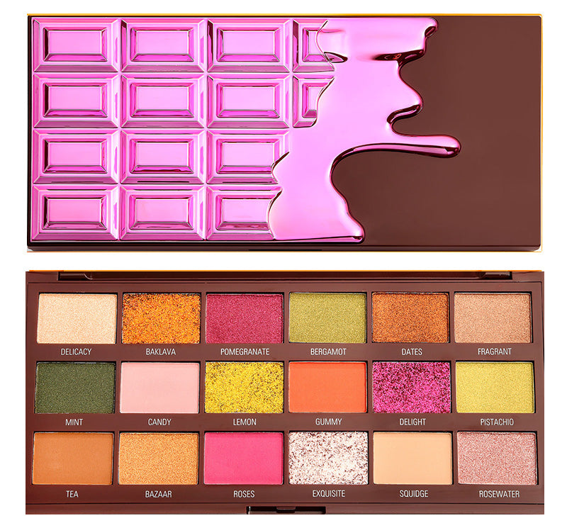 TURKISH DELIGHT CHOCOLATE PALETTE