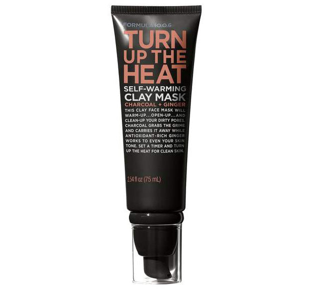 FORMULA 10.0.6 TURN UP THE HEAT SELF-WARMING CLAY MASK Glam Raider