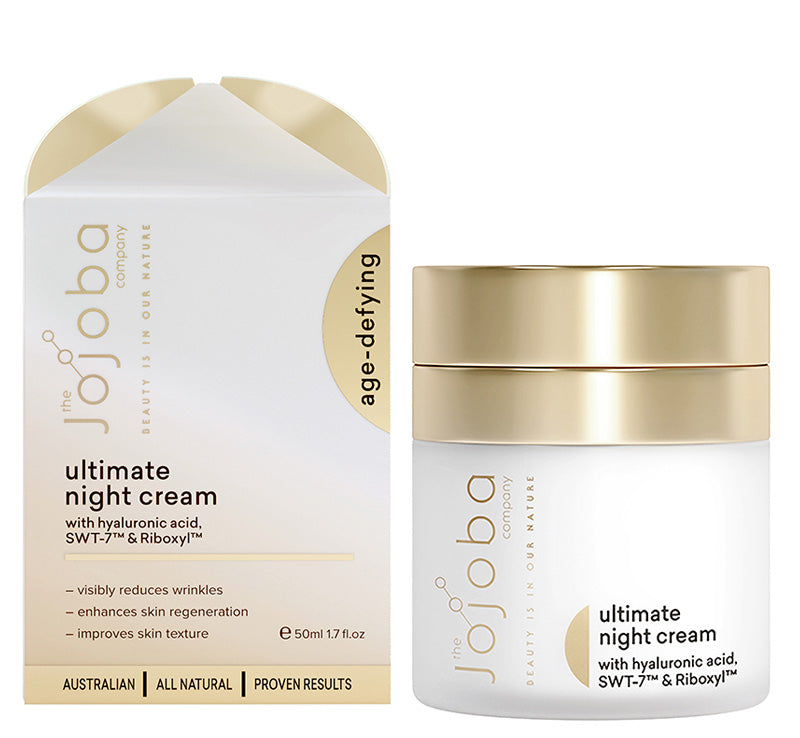 THE JOJOBA COMPANY ULTIMATE NIGHT CREAM Glam Raider