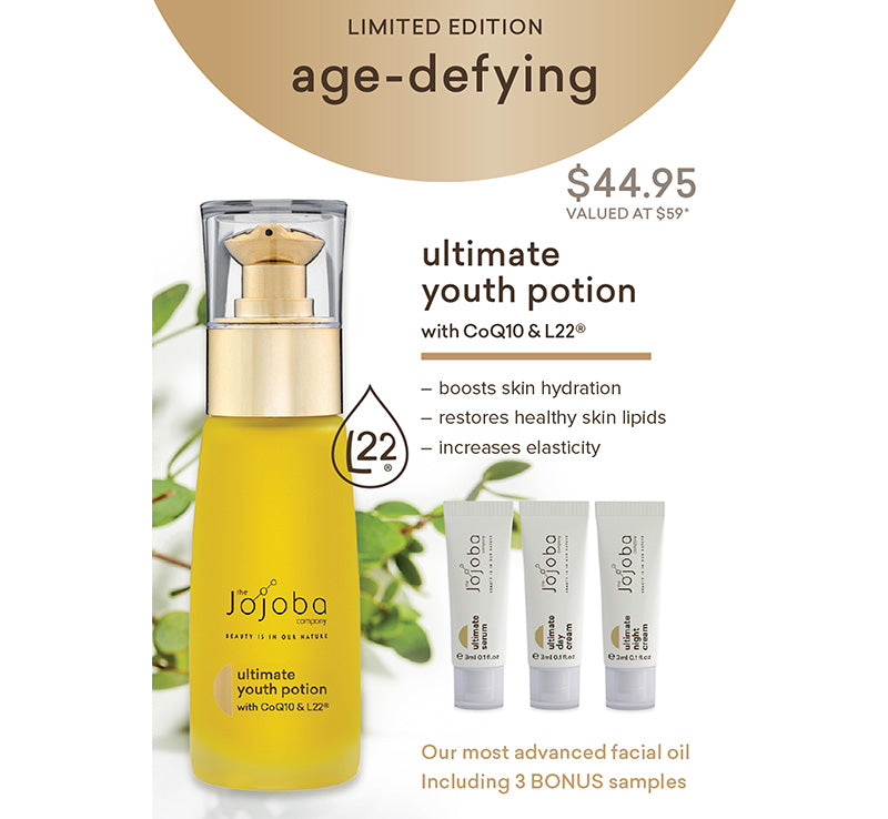 ULTIMATE YOUTH POTION + L22® + FREE SAMPLES
