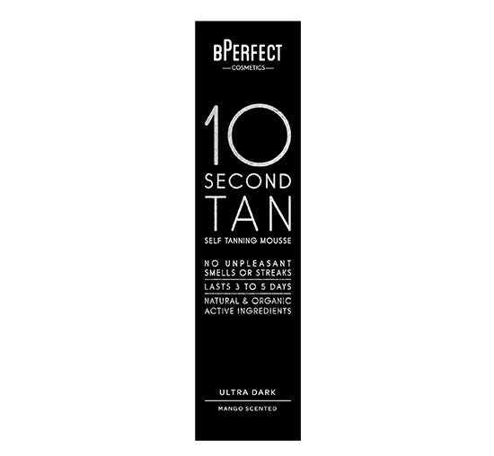 BPERFECT 10 SECOND SELF TANNING MOUSSE - ULTRA DARK MANGO Glam Raider