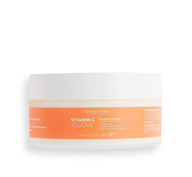 REVOLUTION SKINCARE VITAMIN C GLOW MOISTURE BODY CREAM Glam Raider