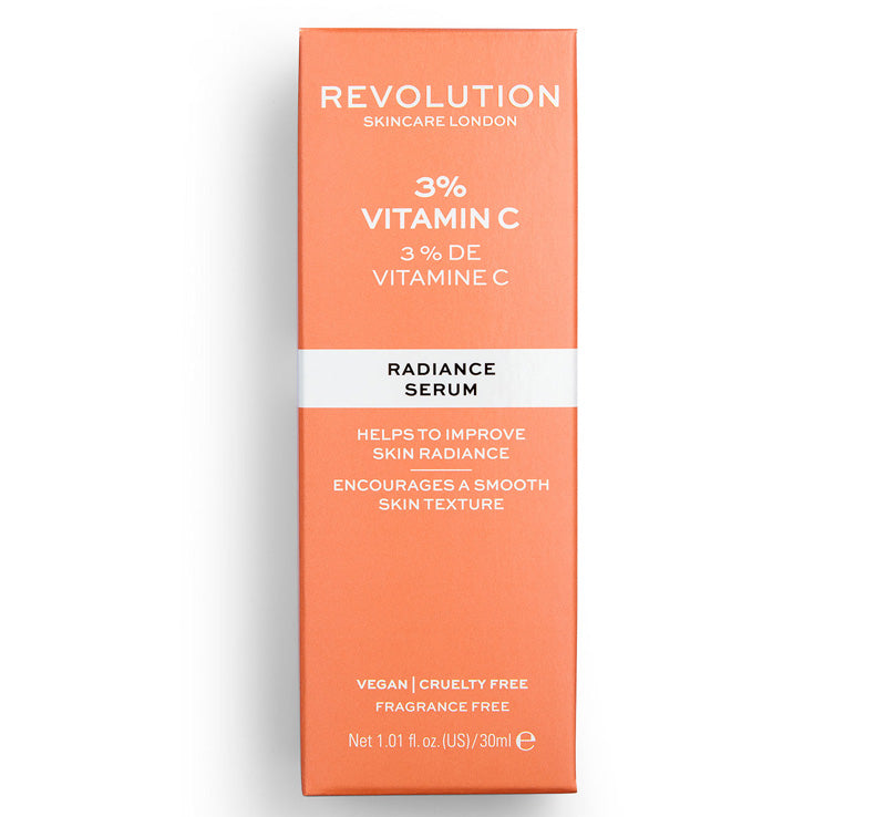REVOLUTION SKINCARE 3% VITAMIN C SERUM Glam Raider