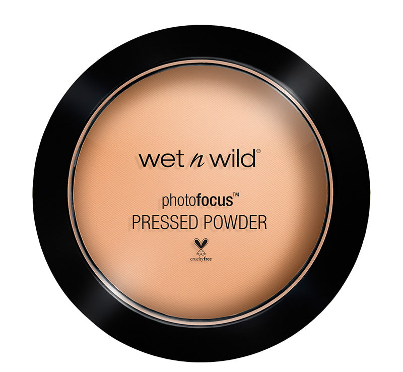 WET N WILD PHOTO FOCUS PRESSED POWDER - WARM BEIGE Glam Raider